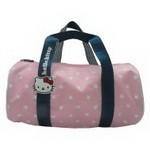 Hello Kitty Handtasche rund 35cm rosa