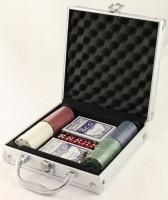 Pokerspiel im Koffer 20x20cm