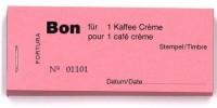 Bon für 1 Kaffee Crème