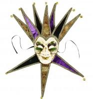 Venezianische Maske Jolly