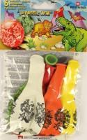 Gummiballone Dinosaurier
