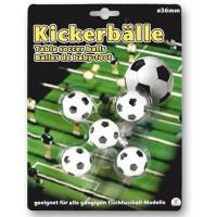 Hoffmann 5 Kickerbälle für Tischfussball