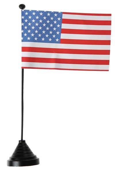 Tischfahne USA Set