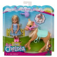 BARBIE Chelsea und Pony