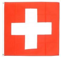 Fahne Schweiz mit Seil