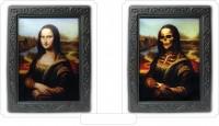 3D Effektbild Mona Lisa