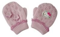 Hello Kitty Kinder Strickhandschuhe Flowers 2-3 Jahren