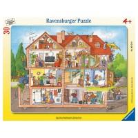 RAVENSBURGER Puzzle Blick ins Haus