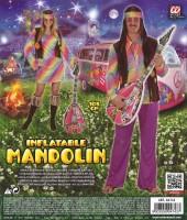 Aufblasbare Hippie - Mandoline