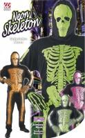 Skelett Kostüm XL