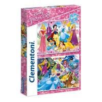 Clementoni Puzzle Princess, 2x20 teilig