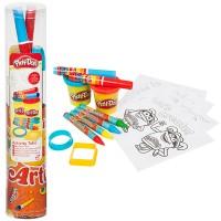 Play-Doh Aktivitäten-Rohr gefüllt