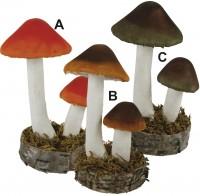 Dekorations Pilze