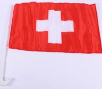 Autofahne Schweiz deluxe