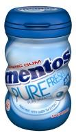 Mentos Gum Pure Fresh Freshmint 90g Bottle x 6