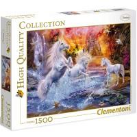 Clementoni Puzzle wildes Einhorn 1500 tlg