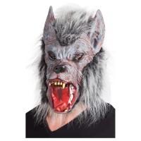 BOLAND Maske Werwolf mit Fell