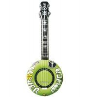 Aufblasbares Banjo grün
