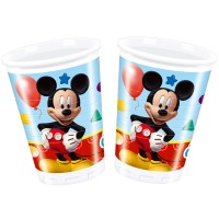 8 Becher Mickey Mouse 200ml