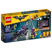 LEGO BATMAN MOVIE Catwoman: Catcycle-Verfolg-