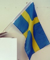 Autofahne Schweden