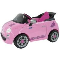 Peg Perego Fiat 500 S 6V pink
