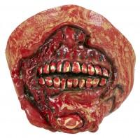 Gruseliger Zombiemund