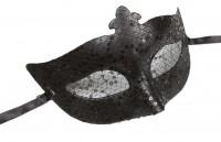 Dominomaske schwarz