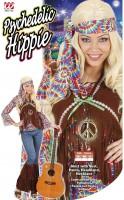 Farbenfrohes Hippiekostüm S