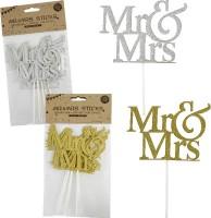 Hochzeitsstick Mr. & Mrs.
