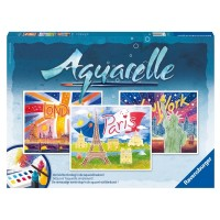 Aquarell Maxi, Weltstädte