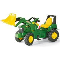 Rolly Toys Farmtrac JD Lader+Luftbereifung