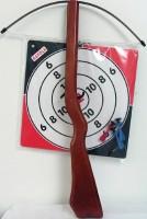 Armbrust Holz 60cm mit Zielscheibe & Pfeilen
