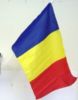 Autofahne Rumänien