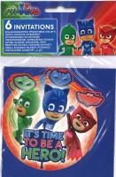 Einladungskarten PJ Masks