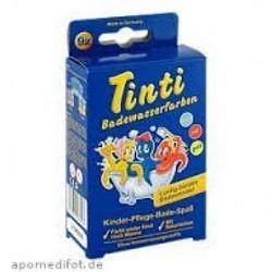 Tinti Badewasserfarbe 9er Pack