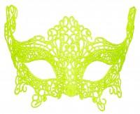 Neongelbe Dominomaske