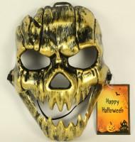 Goldene Totenkopf - Maske