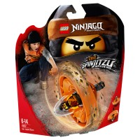 LEGO NINJAGO Spinjitzu-Meister Cole