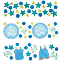 Amscan Deko-Konfetti Baby Shower Boy 34gr