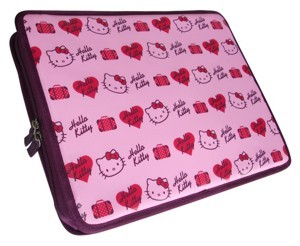 Hello Kitty Computerhülle A4 Netbook
