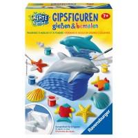 RAVENSBURGER Gipsfiguren Delfin