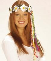 Hippie Haarschmuck Margerithen