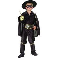 Fasnacht Bandit Kostüm 4-teilig Gr. M