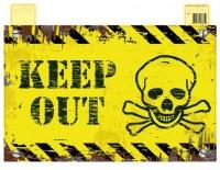 Türschild Keep Out