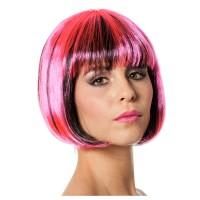 Perücke Bobline, neon-pink