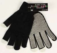 Touch-Screen Handschuhe schwarz S/M
