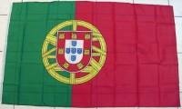 Fahne Portugal mit Öse