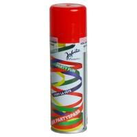 Luftschlangenspray, rot