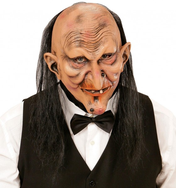 Maske Butler oder Hexe